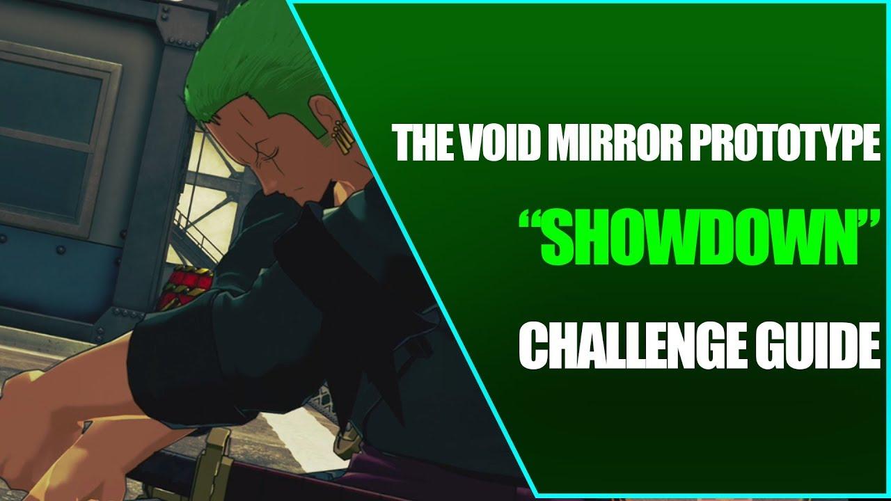 Showdown - Challenge Guide - One piece: World Seeker - Zoro DLC