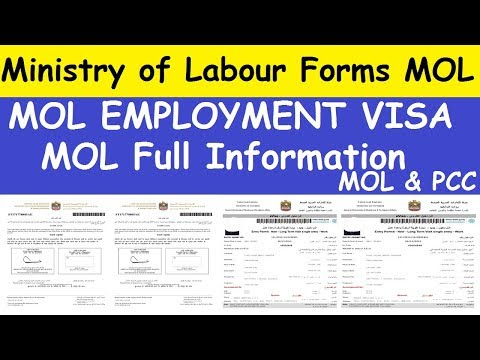 What is MOL Form l MOL Information About Employment Visa  l Ministry of Labour Forms