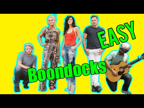 How To Play - Boondocks by Little Big Town - Guitar Lesson - EASY Song