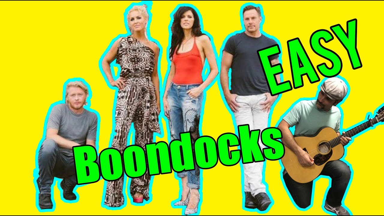 How To Play Boondocks By Little Big Town Guitar Lesson Easy