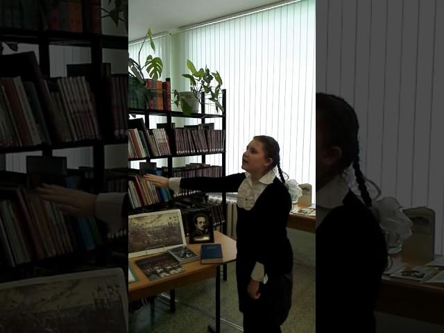 Изображение предпросмотра прочтения – ВалерияМерзлякова читает отрывок изпроизведения «Бородино» М.Ю.Лермонтова