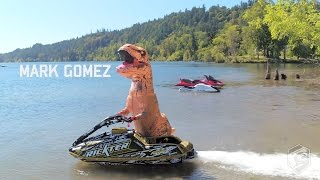 T-Rex Steals Jet Ski