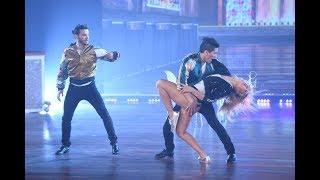 Pasado, presente y futuro, así bailaron el ritmo libre Agustín Casanova y Flor Vigna