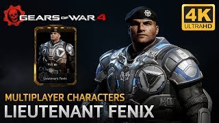 Gears of War 4 - Multiplayer Characters: Lieutenant James Dominic Fenix