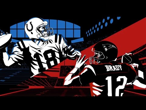 Tom Brady vs. Peyton Manning: Year One | The First Game: Patriots vs. Colts (2001) | NFL