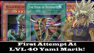 My First Look at Yami Marik! lvl 5 - lvl 40! | Lets Play Yugioh Duel Links w/ SupermanRion