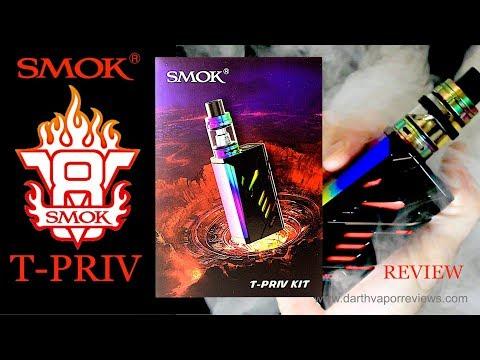 SMOK: T-PRIV 220w Box Mod Kit Review