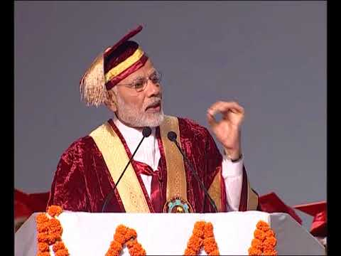 PM Modi addresses Convocation of Sher-e-Kashmir University in Jammu