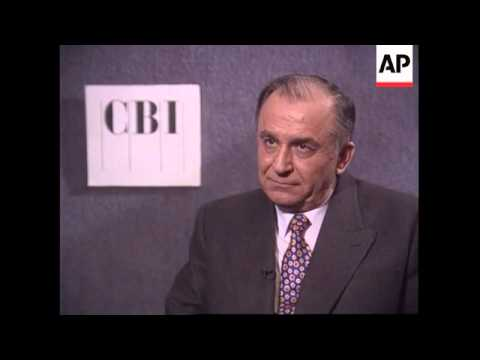 UK - Iliescu At CBI Banquet And On Mooney Problem