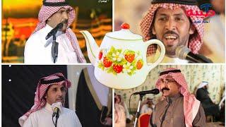تركي الميزاني و فواز العزيزي و فهد العازمي و شاهر العنزي..... .حفل العزايزة