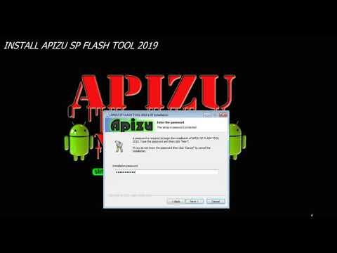 APIZU SP FLASH TOOL + AUTH FILE  WITH  ALL CUSTOM DA IN -SIDE   :  FIX  MTK FLASH TOOL 2019