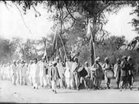 Image result for Images for Gandhi's Salt Satyagraha in 1930
