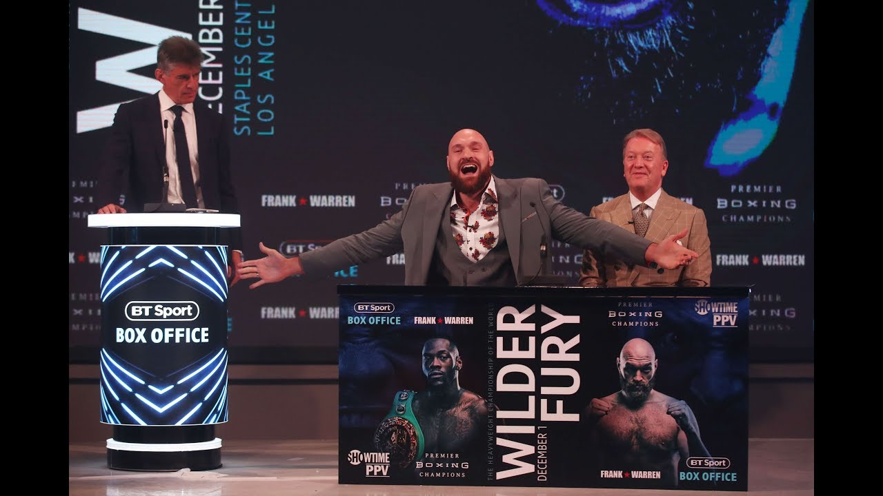 Download Full Deontay Wilder v Tyson Fury crazy London press conference | Warning: contains bad language