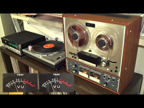 Broadcast  Man is not a bird Teac A4010 s Reel to Reel
