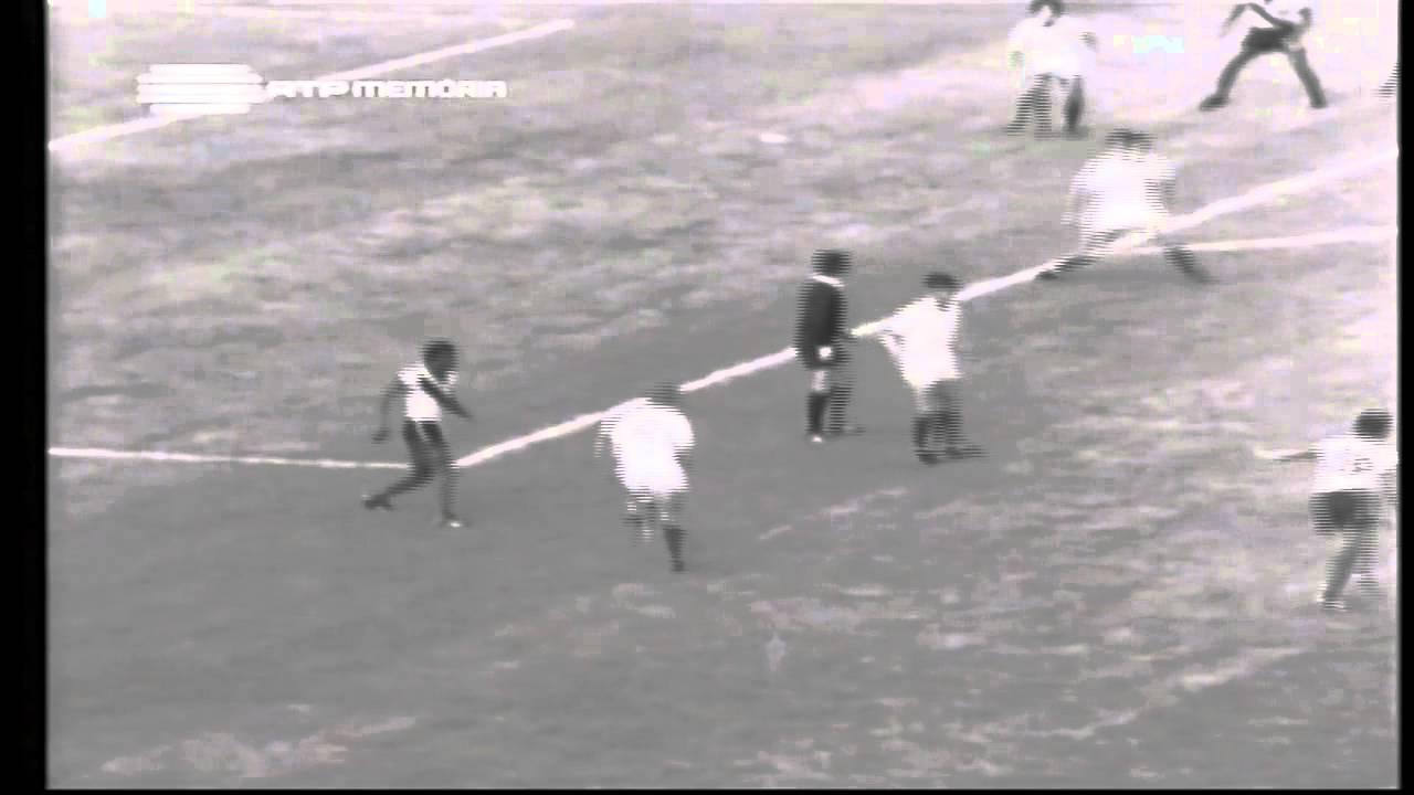 Laranjeira (Sporting) no Portugal - 3 x Equador - 0 da Minicopa 1972 - Fase Grupos