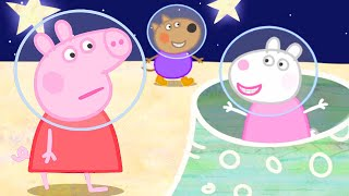 Peppa Pig Official Channel 👨‍🚀 Peppa Pig Flies to the Moon