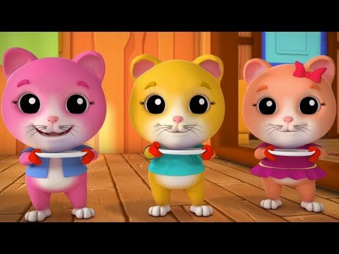tres-pequeños-gatitos-canciones-infantiles-gatitos-rimas-para-niños-rimas-de-bebé-3-little-kittens