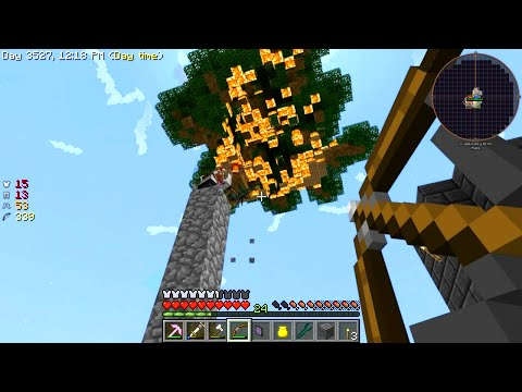 Minecraft - Sky Factory #26: Burn It Down!
