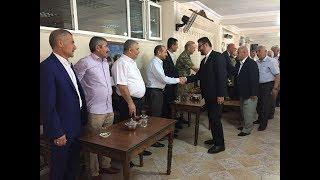 Midyat'ta Protokol Ve Halk Bayramlaştı