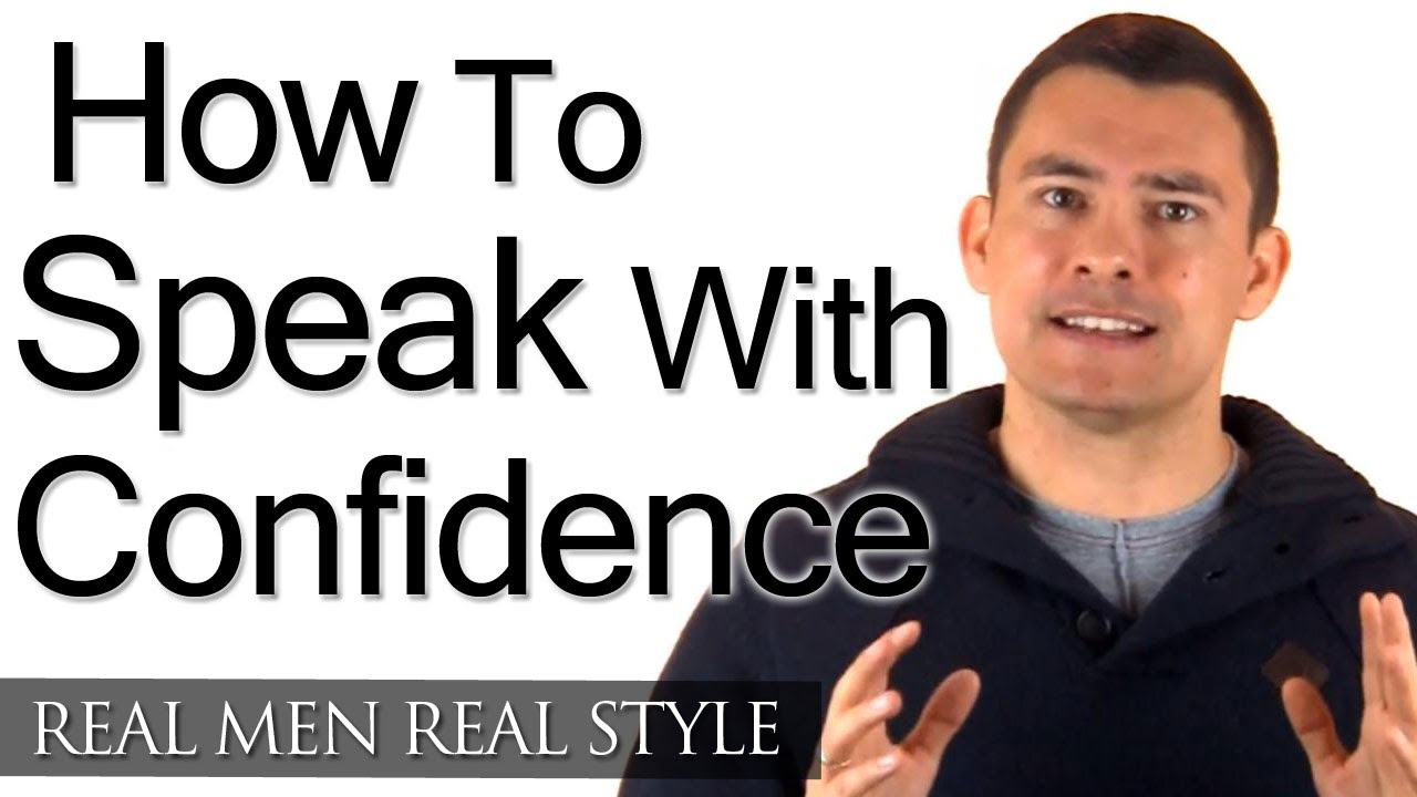 Confidence Get How In Talking To