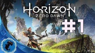 Horizon: Zero Dawn - 1! #Horizon #PS4