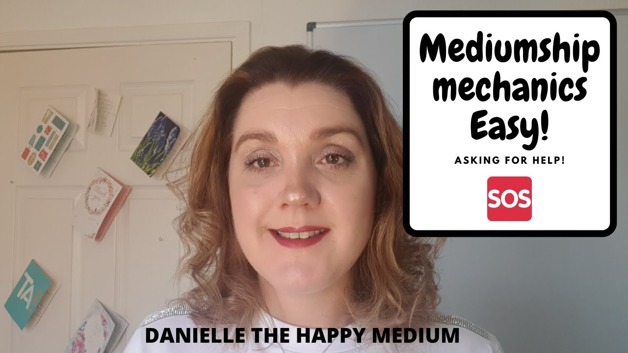 Asking for help in Mediumship Development & Mediumship Training