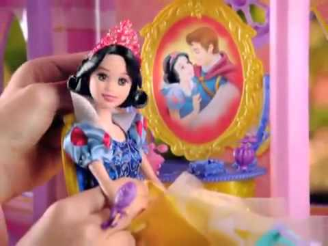 Disney Princess MATTEL Dream Castle + Ballgown Surprise Dolls Commercial