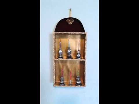 Candelabros en miniatura.