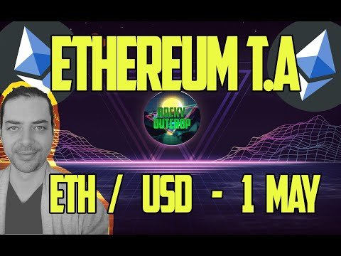 Ethereum (ETH/USD) - Daily T.A With Rocky Outcrop - May 1st - Technical Analysis & Price Predictions