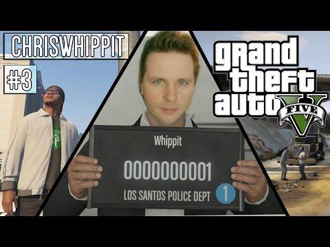 GTA 5 Online på svenska | #3 | Rånar en mack och stjäl en polisbil.