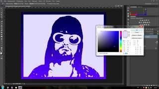 Как сделать фото в стиле поп арт в Photoshop CC  третий способ