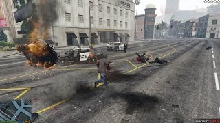 GTA V -  5 Star Wanted Level Chase