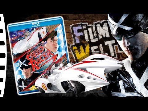 Speed Racer (Blu-Ray) - Knallbunte ANiME Verfilmung (Blu-Ray Unboxing/Review)