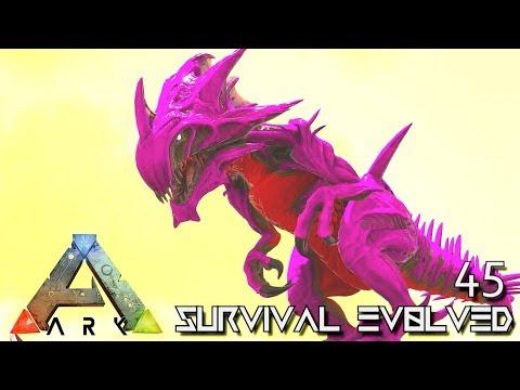 ARK: SURVIVAL EVOLVED: REAPER KING & YETI TAMING E45 !!! ( ARK EXTINCTION CORE MODDED )
