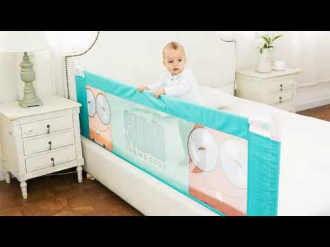 install video guide for the baby bed fence baby bed rails guard