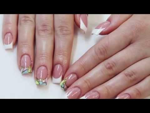 Моделирование ногтей на типсах в салоне красоты «Naturel Studio»