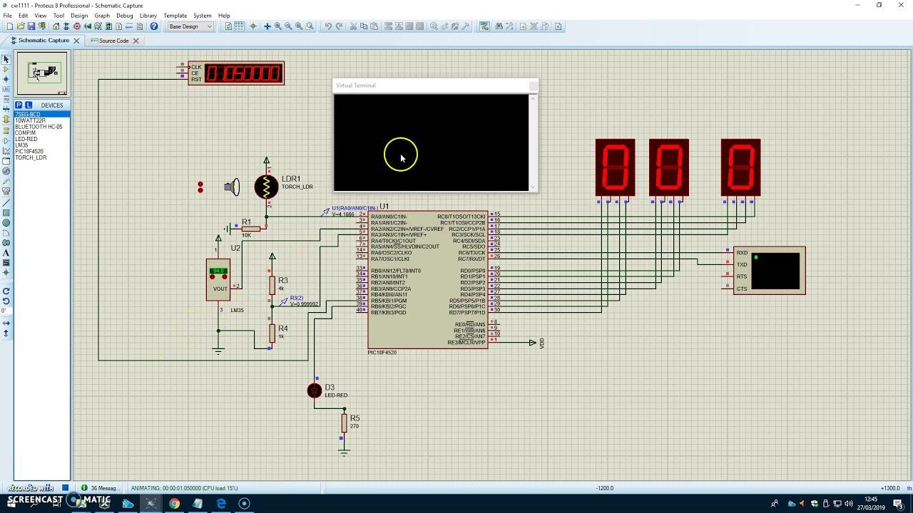Greenhouse Simulation Design Test #1