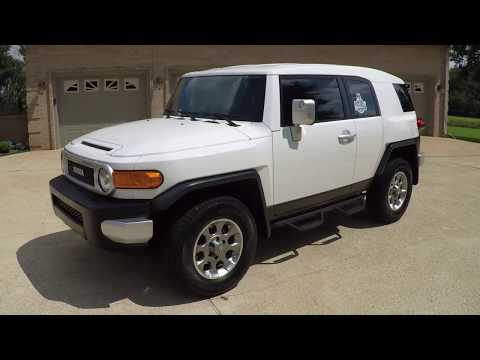 West TN Icerberg 2013 Toyota FJ Cruiser Crawl Mode 4X4 used for sale info www sunsetmotors com