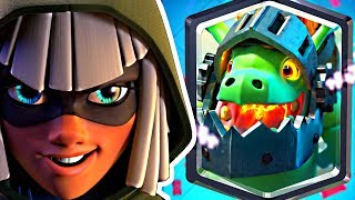 THIS BANDIT / INFERNO DRAGON DECK WINS! - Clash Royale