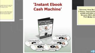 Instant Ebook Cash Machine WSO - Product Creation Secrets - Cory Friedman WSO Warrior Forum