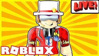 Roblox Live Steam - FUN GAMES ONLY BEYOND THIS POINT! - Vote On Various Games to Play
