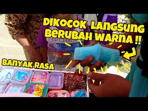 BIKINNYA UNIK DAN TOPPINGNYA BANYAK!! JAJANAN ANAK SD JAMAN OLD ES KOCOK!! | INDONESIA STREET FOOD