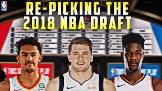 Re-picking The 2018 NBA Draft!