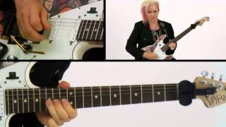 50 Ultra-Intervallic Licks - #50 Prince of Wholes - Guitar Lesson - Jennifer Batten