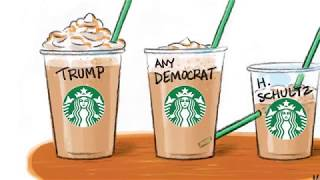 7 scaldingly funny cartoons about Howard Schultz's presidential run