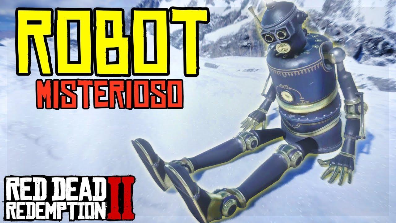 HO TROVATO un ROBOT Su RED DEAD REDEMPTION 2 ita! [EASTER EGG] 🤖 Misteri E Segreti RDR 2 ita *OMG*