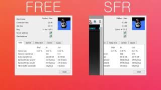 ADSL FREE VS SFR COMPARATIF PING EN TÉLÉCHARGEANT