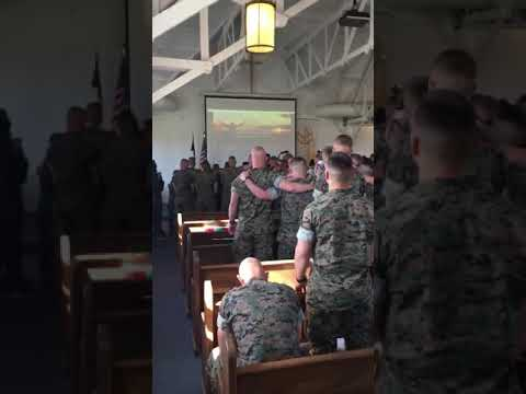 Bless the Lord o my soul - Marines sing worship