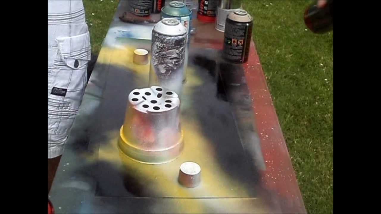 Peinture la bombe spray paint youtube for Peindre a la bombe
