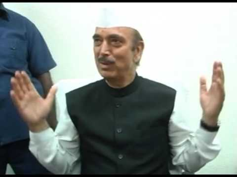 GHULAM NABI AZAD ATTACK ON MODI